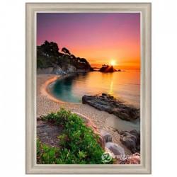 Диамантен гоблен Изгрев на плажа